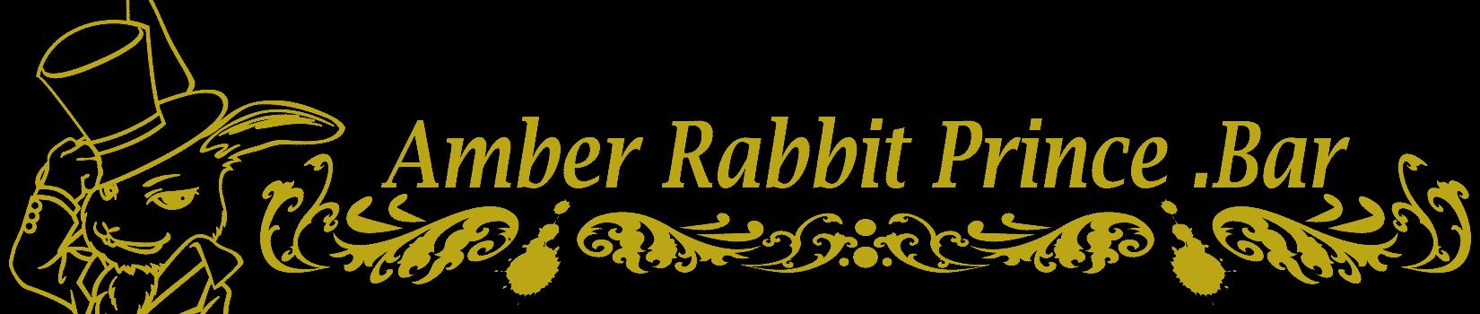 Amber Rabbit Prince .Bar